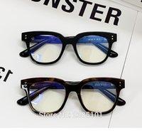 Mode Sonnenbrillenrahmen 2021 Männer Quadratische Gläser Acetatrahmen Weibliche Sanfte Marke Wildwild2 Designer Gafas de Sol Brillenverschreibung E