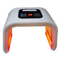 Mais recente 7 Cores CE Led Máscara Facial Light Therapy Dispositivo de rejuvenescimento da pele Spa Remover Acne Anti-rugas Tratamento de Beleza