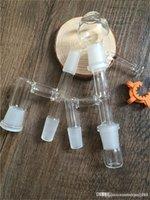 2pcs verre Reclaim Catcher Ash 14mm 18mm Hommes Femmes en verre Joint Récupérateur adaptateurs ashcatcher adaptateur Bong en verre huile Rigs