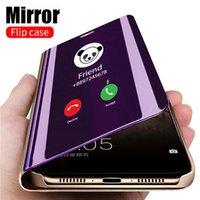 Smart Mirror Case Pour Xiaomi Retournez redmi Note 9 9s 8 7 5 6 K20 Pro 8T 9 9A 9C 8 8A 7 7A 6 6A 4X 5 Plus Mi Note 10 Lite Pro Cover