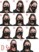 elemento diseñador de la cara Algodón lavado máscara a prueba de polvo del Rhinestone de protección solar UV respirador seguridad contra la gripe Máscara mayorista