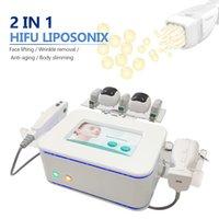 2021 초음파 HIFU Liposonix 셀룰 라이트 감소 슬리밍 기계 휴대용 Liposonic 바디 컨투어링 Lipohifu UltraShap 아름다움 장비