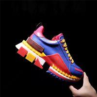 2021 zapatos casuales de moda popular de los hombres, zapatos de ejercicio al aire libre de la almohadilla de choque suave, zapatos de pareja de cojines de aire para hombre, tamaño 36-46