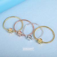 DORANPS War Horse Collezioni braccialetto dell'oro 18k donne argento 925 per il braccialetto pandora serpente braclet catena regali gioielli