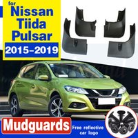 для Nissan Pulsar Tiida C13 2015 ~ 2019 автомобилей брызговики Передние Задние брызговик Брызговики Брызговики Fender аксессуары 2016 2017 2018