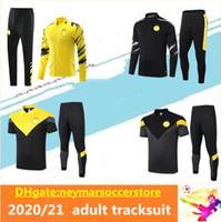 20 21 deportes Dort SANCHO traje de entrenamiento de fútbol Survetement 2020 2021 SANCHO HAALAND REUS PELIGRO desgaste maillot de fútbol chándal