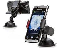 عالمي الهاتف المحمول سيارة جبل حامل الزجاج الأمامي سطح المكتب حاملي الهاتف الخليوي الهاتف الذكي سامسونج اي فون 2 الألوان