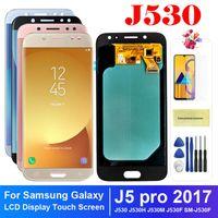 휴대 전화 터치 패널 100 % 테스트 삼성 J5 Pro J530H J530M J530 J530F LCD 디스플레이 화면 디지타이저 어셈블리