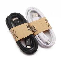 1M 3ft Micro-USB-Kabel Hochwertiges Ladekabel 100CM USB-Datensynchronisierungs-Ladekabel für Samsung S3 S4 S5 S6 xiaomi Android Phones