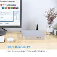 Freeshipping 7 ° Gen Mini PC Core I7 7500U I5 7200U Intel HD Graphics 620 Windows Desktop WiFi HD-MI 6 * USB Gaming Mini computer MiniPC