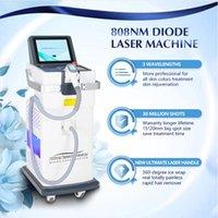 Diyot Lazer Makinesi Pürüzsüz Bacaklar Epilasyon 808nm SHR Ağrısız Tüm Renkli Ciltler İçin