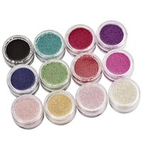 Nail Art Décorations 1 Box Coloré Mini 3D Caviar Beads Crystal Tiny Strass Micro Perle Pour Nails Diy Glitter D003