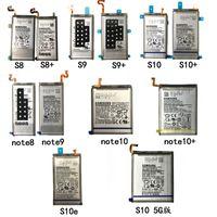 استبدال البطارية لسامسون الأصل S8 S9 S10 S10E S8puls S9plus s10plus note8 note9 note10plus اعط شريط لاصق بعيدا و