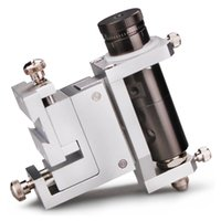 Trois Réglage fin dimensionnelle Dispensing support vanne de distribution 30cc 50cc aiguille de cylindre en alliage d'aluminium fixe Support