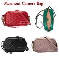 الكتف MARMONT كاميرا حقيبة الأزياء البسيطة CROSSBODY حقيبة حمل المرأة جلد طبيعي حقيبة يد محفظة السيدات حقائب عالية الجودة سلسلة مع الشرابة