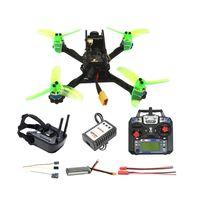 135mm RC FPV Yarışı Drone Quadcopter Mini F3 OSD 2S 10A 7500KV Fırçasız 2.4G 6ch BNF RTF Combo Seti 1200TVL HD Kamera Gözlükler