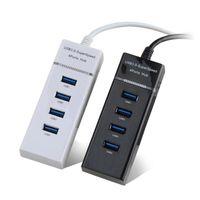 4-ميناء USB 3.0 المحور العليا سرعة متعدد HUB الفاصل التوسع لأجهزة الكمبيوتر المحمول محرك فلاش ملحقات الكمبيوتر JK2008XB