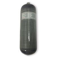 AC1090 Acecare 9L CE Alta presión 300BAR 4500PSI PCP Cilindro de gas de fibra de carbono para PCP Aire comprimido Accesorios para la caza del rifle