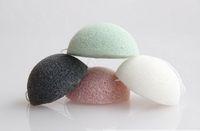 Naturale attivi vegetali Konjac Cleanse lavaggio spugna Multi-Color Exfoliator pulizia spugna Cura del viso attrezzi di trucco