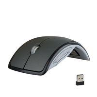 Ratones ergonómicos verticales de ratón inalámbrico USB Mouses plegables ajustables ópticos para PC Ordenador de escritorio portátil HP Dell