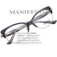 Fashion Sunglasses Frames 2021 Optical Glasses Frame Women Cat Eye Prescription Myopia Metal Eyeglass Spectacle Luxury Vintage Eyewear