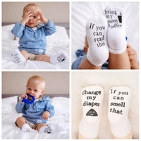 Newborn letter socks if you can read baby leisure children s...