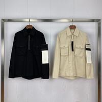 20SS Erkek Tasarımcı Ceket Cep Lüks Hoodie Ceket Moda Erkek Marka Ceket Yeni Erkekler WINDBREAKER Coat Açık Streetwear