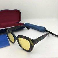 اسلوب جديد أريفا GG0327S المتأنق الفراشة نظارات 52-20-140 الإناث التدرج مكافحة UV400 القط العين نظارات الكامل مجموعة حدة منفذ OEM