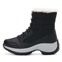 STS BRAND Women Boots Waterproof Winter Shoes Female Snow Bo...