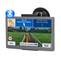 HD 7 인치 자동차 블루투스 GPS 네비게이션 무선 Avin 트럭 Navigator 800MHz Ram25MB FM 송신기 MP4 8GB 3D지도