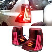 Réflecteur à LED pour Toyota Land Cruiser Prado 150 LC150 FJ150 GRJ150 2010 - 2019 pare-chocs arrière LED frein de frein de feu arrière