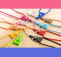 Correia de Pescoço de Pescoço Destacável Pescoço Pescoço Corda de Nylon de Nylon para Telefone Móvel Câmera MP3 USB ID CARTÃO Misturado Cor Suportada