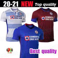 Top Thaïlande 2020 2021 Cruz Azul Futbol Club de football Maillots Dominguez Stik Caraglio Hernandez Mexique hommes football chemises