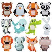 Presente De Natal Animal Balões Bonitos Animais Animais Balões Fox Panda Pinguim Crocodilo Filme Balão Brinquedo Crianças Presentes