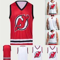 New Jersey Devils Hokey Tankı Jersey Kyle Palmieri Jack Hughes Taylor Hall P.K. Subban Nico Hischier Blake Coleman Miles Ahşap Schneider