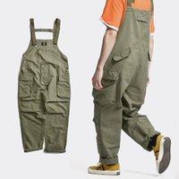 Pantalon pour hommes Combinaisons pour hommes une pièce Bombiste Combinaison Hip HOP TRENDY Cargos Casual Pantalons en vrac Streetwear travail
