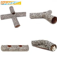 2 3 4 Holes Foldable Pet Cat Tunnel Indoor Outdoor Pet Cat T...