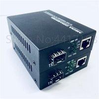 2ST SFP Fiber to RJ45-Wandler Gigabit SFP GPON / OLT Medienkonverter 1000 Mbps Medien Transceiver Faser optica Schalter