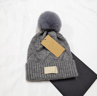 New Bonnet crâne bonnets Couple chaud Cashmere yeux Lovers acné Hats rue Tide Hip-hop laine Casquette adulte