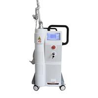 Strumenti di serraggio vaginale CO2 Tattoo laser frazionario Rimuovere la cura della pelle Ascensore del viso Puntatore laser CO2 MACCHINA LASER FRAZIONE
