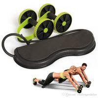 Abs Rad nach Hause ABS Rad Fitness Radrolle mute Stretch Seil multifunktionales Schlankheits ABS Großhandel