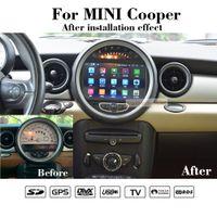 Le dernier android10.0 64g ROM OCTA Core Car Core DVD GPS Navigation pour Mini Cooper 2006-2013 Avec Bluetooth Miroirink DVD WiFi Multimedia Carplay