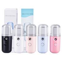 Herramientas de cuidado de la piel Mini Nano rociador de la niebla facial cuerpo del nebulizador vapor hidratante 30ml spray facial de belleza Instrumentos