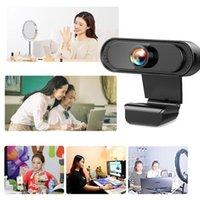 Caméscopes USB 2.0 Véritable Full HD 1080p Webcam Caméra Digital Caméra Digital Caméra Web Cam pour ordinateur portable MIRCOPHONE AUTO AVEC H6W6