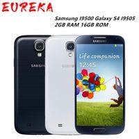 Восстановленный Оригинальный Samsung Galaxy S4 i9500 i9505 5,0 дюймовый Quad Core 2 Гб оперативной памяти 16 Гб ROM, 13 Мпикс 3G 4G LTE смартфон разблокирована