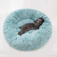Deep Sleep Kennel Cat Letter Round Long Cashmere Nest Materasso Piccoli e Medium Dog Letti Dog Soft Coperte Calda Lettino per addormentato PET PRODOTTI