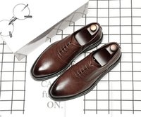 2020 High Quality Men Dress shoes Monk buckle Strap Oxfords Custom Handmade shoes Square toe Genuine calf leather Color patina Grey