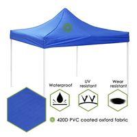 Shade Meigar 3MX3M 420D olf-étanche Oxford Canopy Garden Patio Tente Sun Sheltbo Gazebo Marché de chapiteau extérieur Anti UV