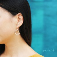 Hot Sale Lotus Fun real prata esterlina 925 Natural criativa Handmade Fine Jewelry Perfeito Pássaro bonito Brincos para Mulheres