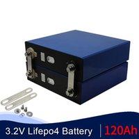 4adet 3C 360A Gerçek Kapasite 120Ah 3,2V lifepo4 pil DIY Pil 12v 24v 120ah Lityum Demir Phospa LiFePO4 ücretsiz gönderim
